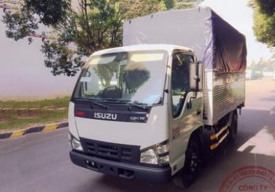 Xe tải Isuzu QKR55F 2,4 Tấn thùng dài 3,6m