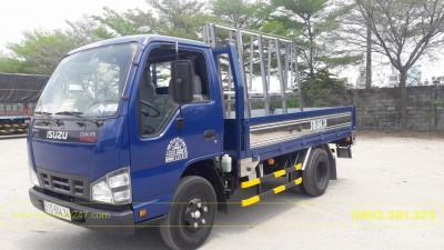 Xe tải Isuzu 1T5 thùng lửng chở kính - QKR77f