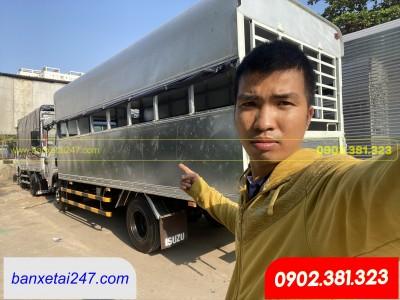 Isuzu NPR85KE4 2020 3.49 tấn thùng tập lái 5m1